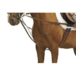 Triangle Draw Reins With Stainless Steel Fittings